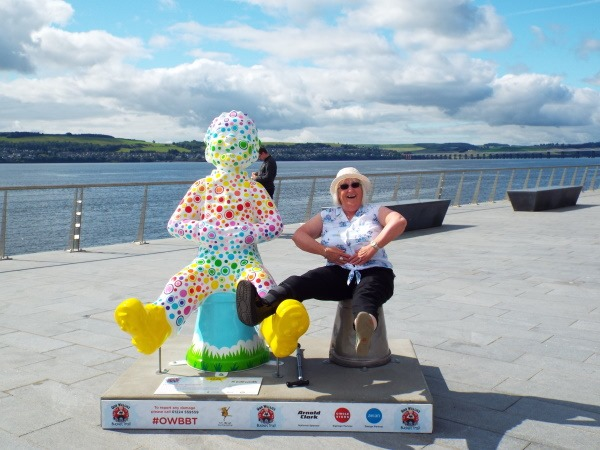 Linda Nielson went out with her husband on an Oor Wullie hunt.