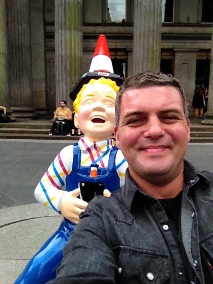 When Wullie met Wullie in Glasgow.