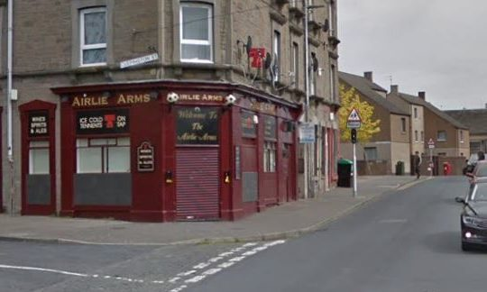 The Airlie Arms.