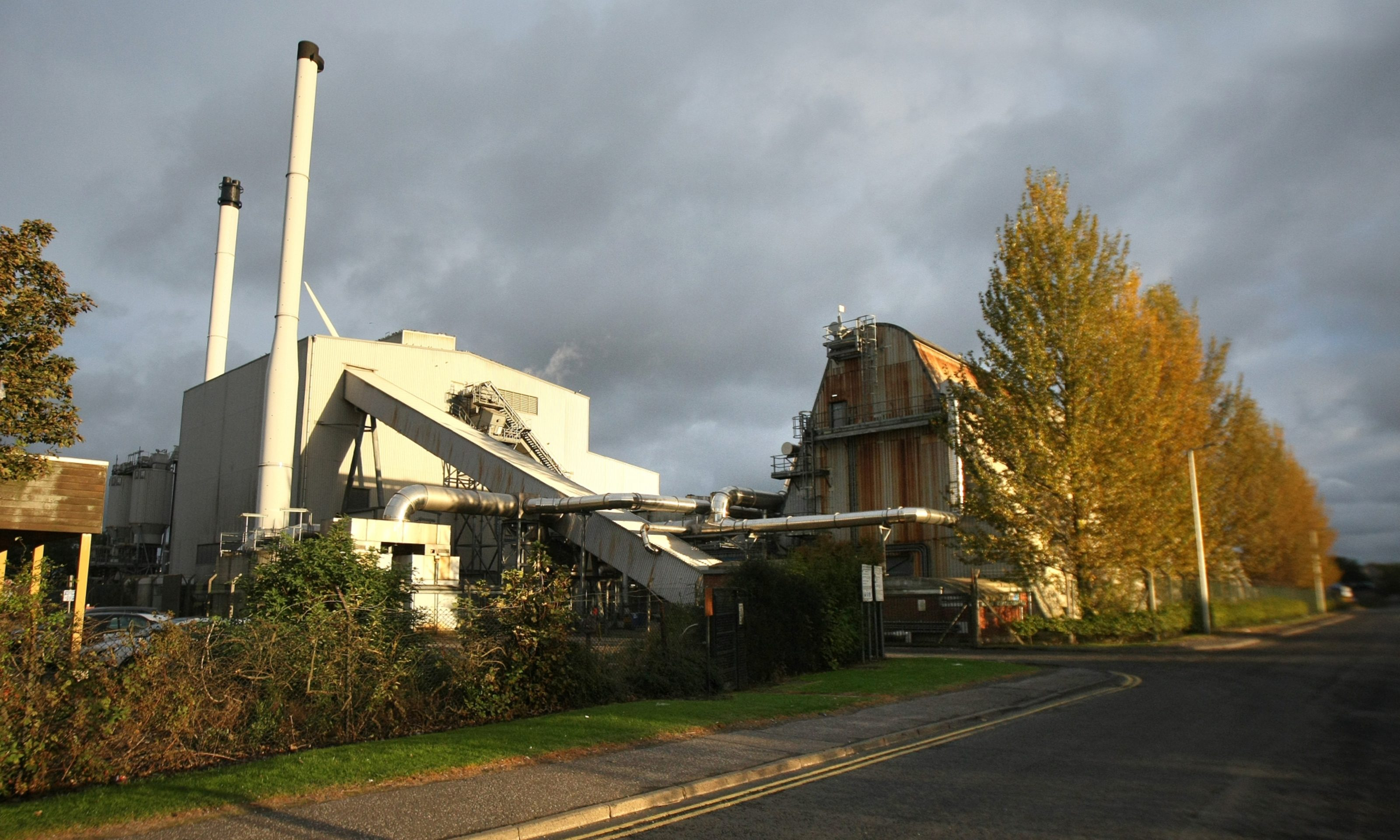 Baldovie incinerator and recycling centre.