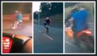 Bikers seen on Strathmartine Road (left picture), along with other bikers seen in the past few weeks in Dundee.