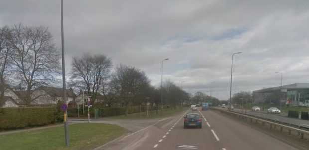 The junction where the collision is alleged to have taken place.