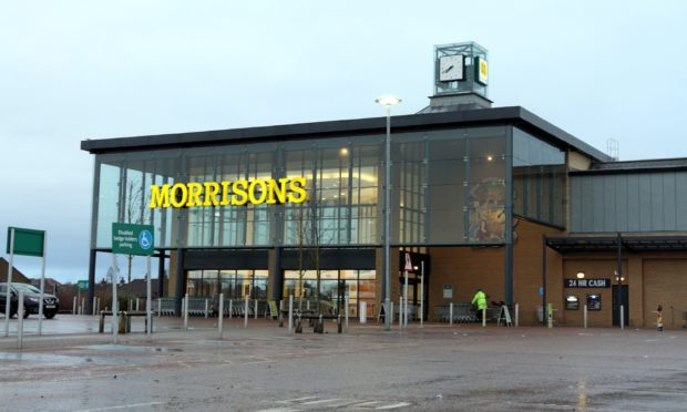 The Morrisons store in Afton Way.