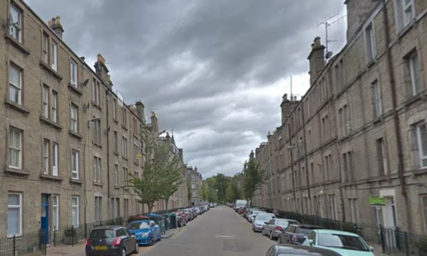 Prosecutors allege the offences took place in Park Avenue in Dundee.