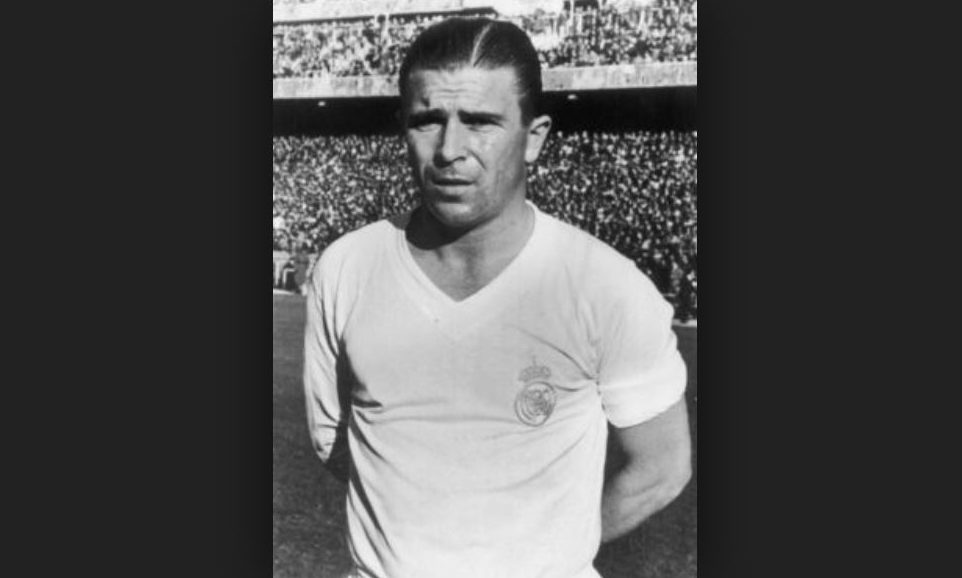 Ferenc Puskas was one of the stars of the Real Madrid side.