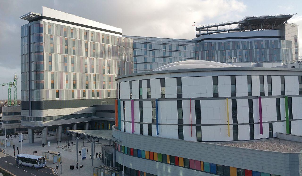 Queen Elizabeth University Hospital.
