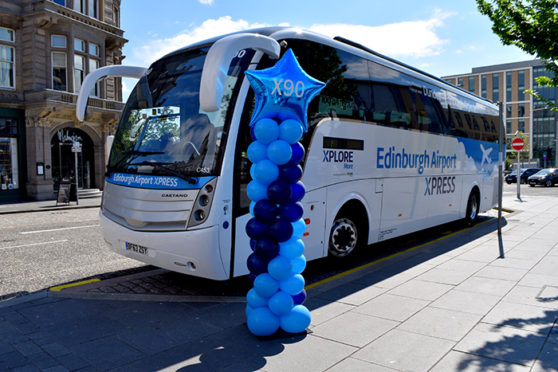 The Edinburgh Airport service run by Xplore Dundee.