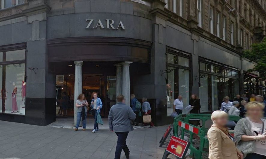 The Zara store in Dundee (stock image).