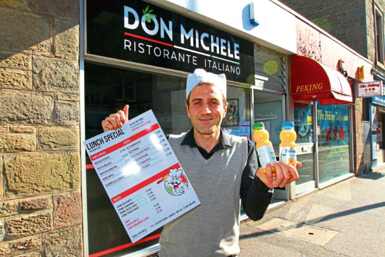 Patrick Lochi of Don Michele.