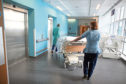A majority of elderly patients are not being released into a social care setting on time, new figures have shown.