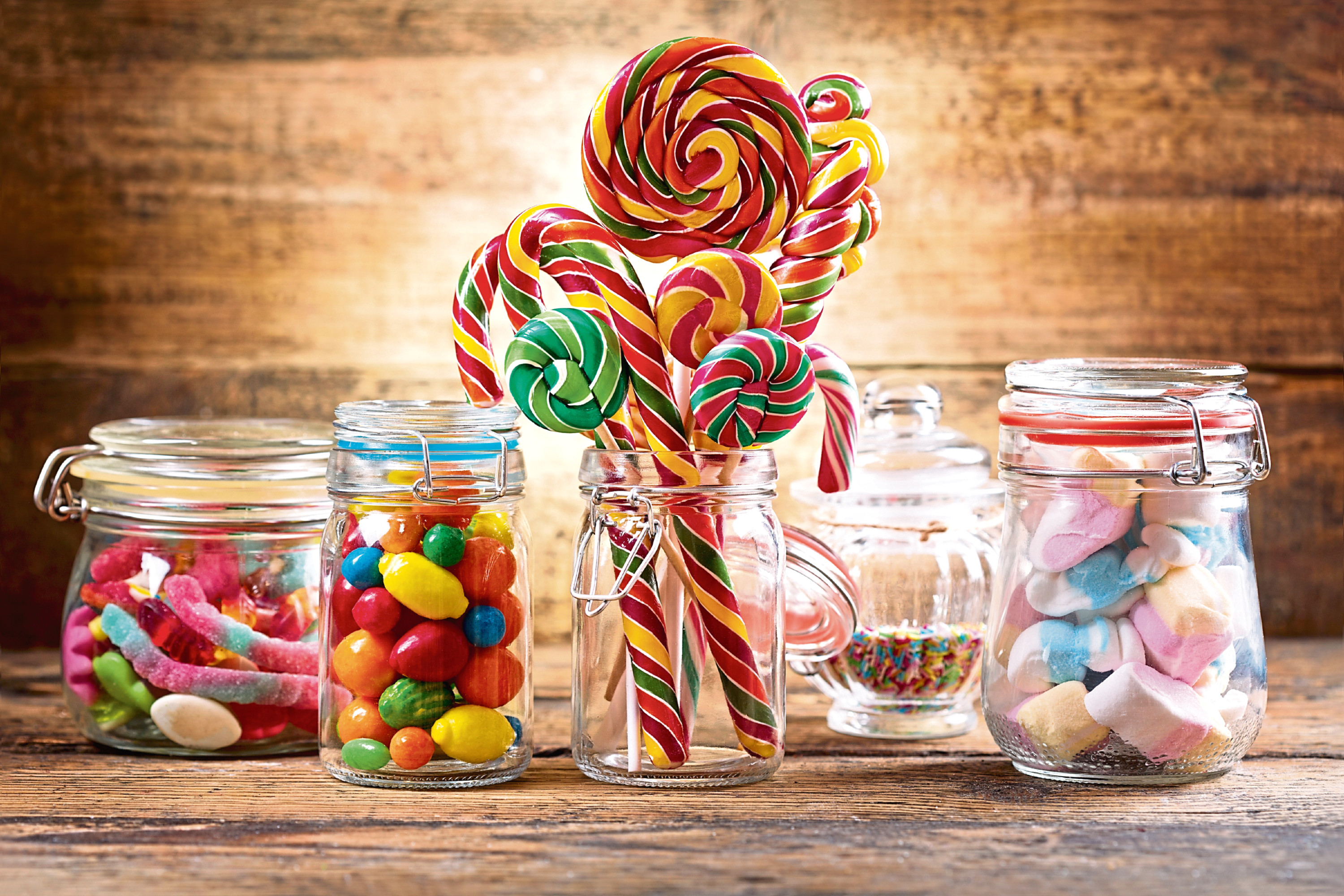 Sweet snacks are far more widely available than healthier options. (Stock image).