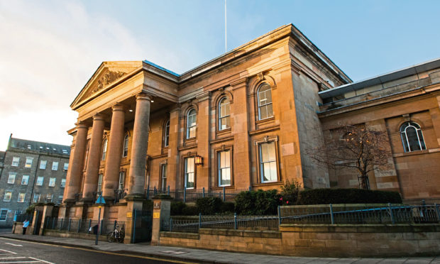 Dundee Sheriff Court.