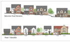 An artists impression of some of the properties.