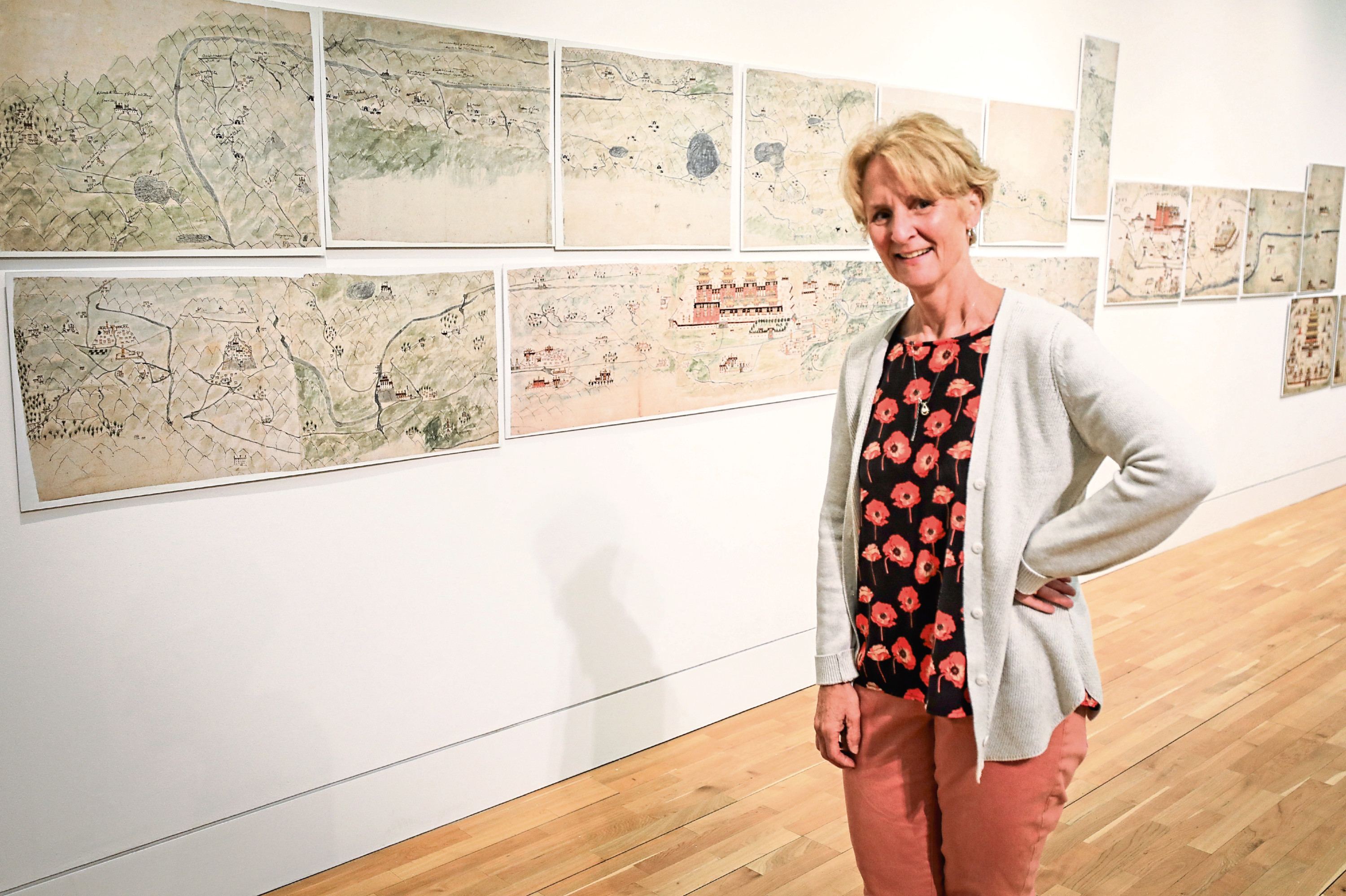 Lucy Goodpaster visited The McManus on Friday.