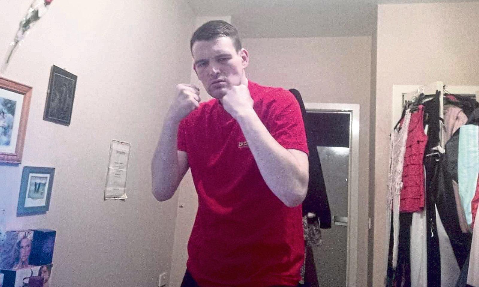 Chris Wilkie threatened to slash his victim's throat.