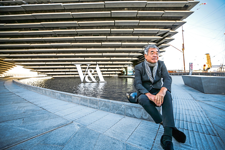 Kengo Kuma, the designer of the museum.