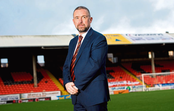 Dundee United managing director Mal Brannigan