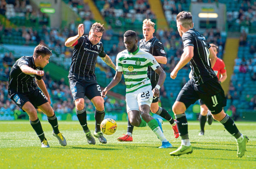 Celtic's Odsonne Edouard is up for football writers' Player of the Year