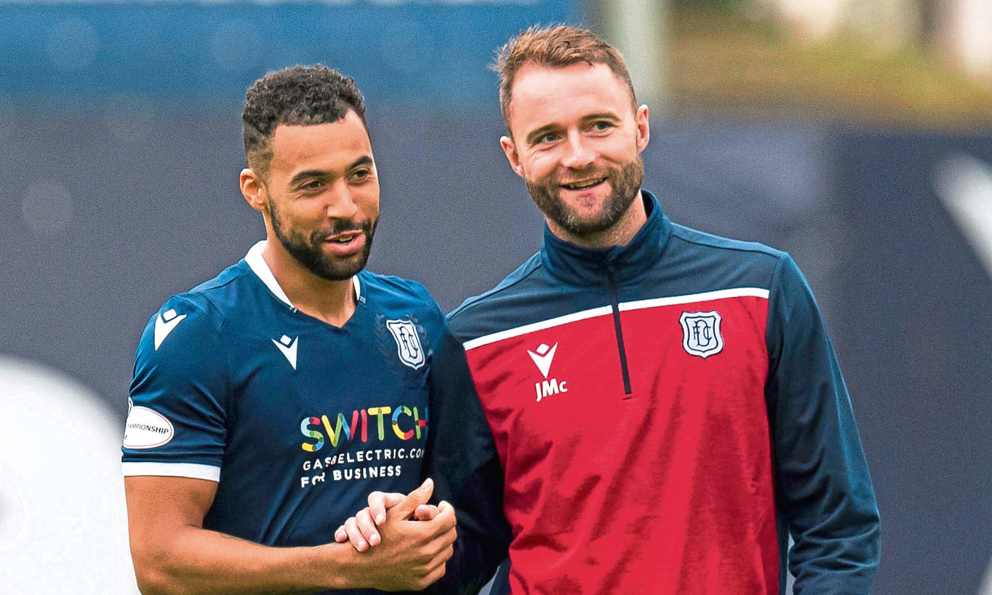 Dundee boss James McPake is delighted to have striker Kane Hemmings available for tomorrow's game against Inverness CT.