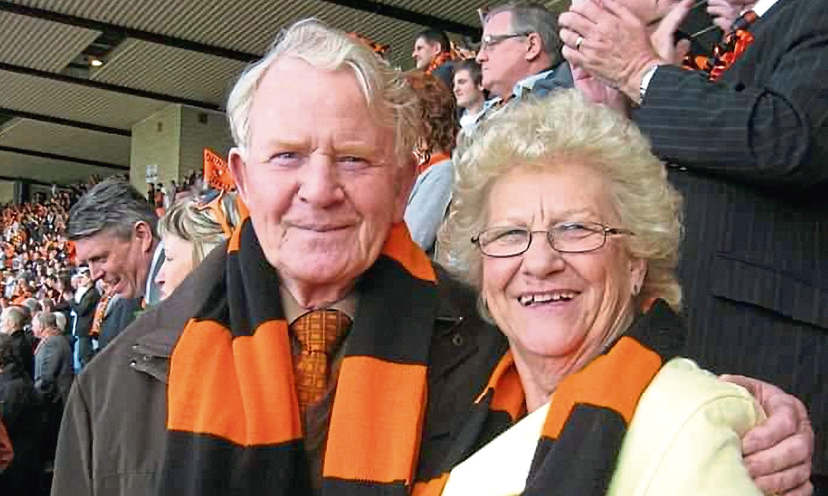 Norman Jamieson and his wife Margaret.