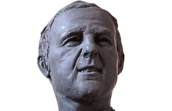 The design for the Jim McLean statue.