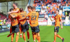 The Dundee United players.