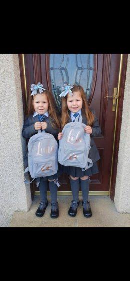 Lola and Luna, St Andrew's Primary School.