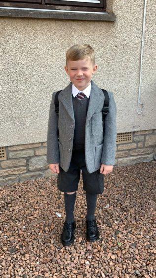 Benny Smith, St Fergus Primary.