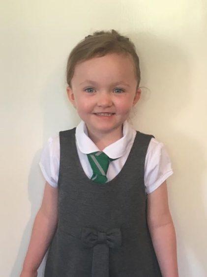Elena Tracy Wallace, Barnhill Primary School.