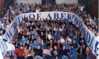 Celebrations as Abertay University is created in 1994.