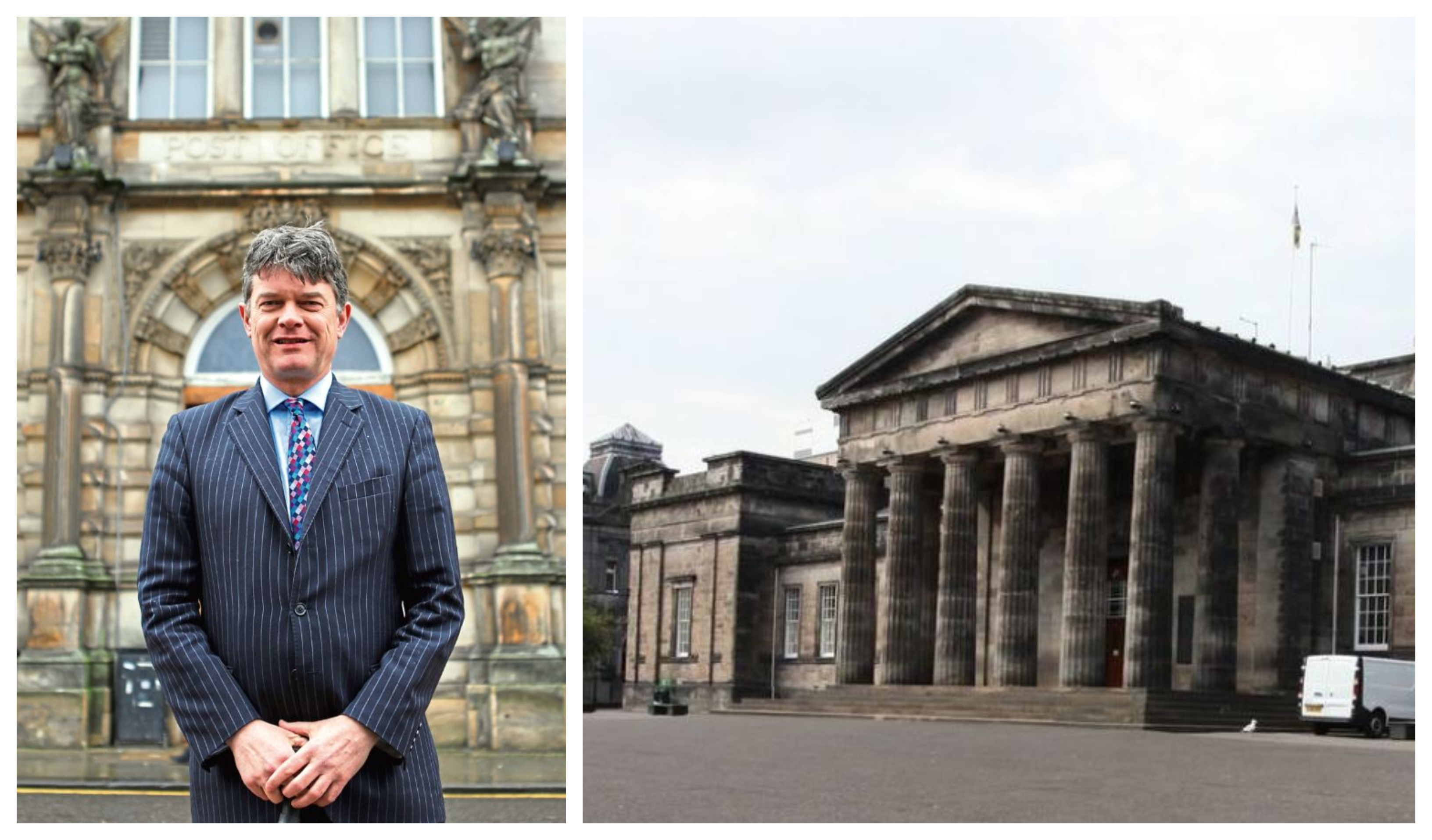 John Halliday and the High School of Dundee.