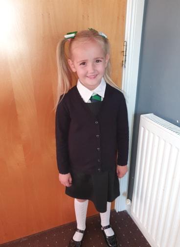 Kiara Smith, Rowantree Primary School.