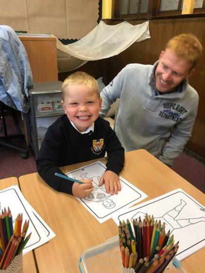 Liam Craik, Clepington Primary School.