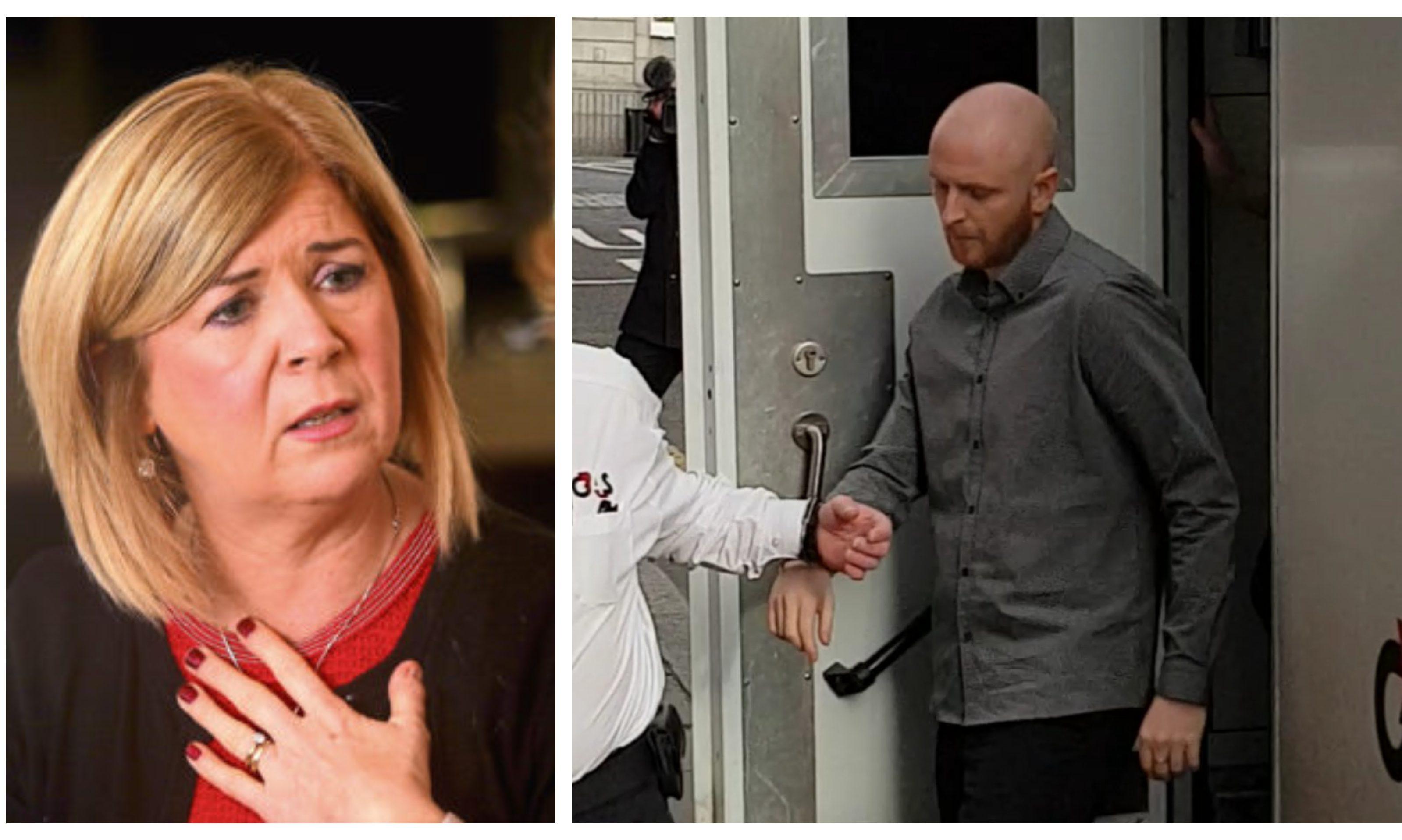 Linda McDonald was left for dead by evil killer Robbie McIntosh.