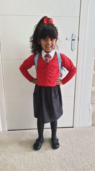 Maiya Mollah, Craigiebarns Primary School.