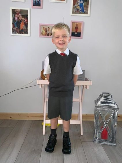 Mason Moncrieff-Robson, Craigiebarns Primary.