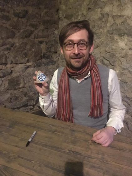 Neil with the Divine Comedy rock.