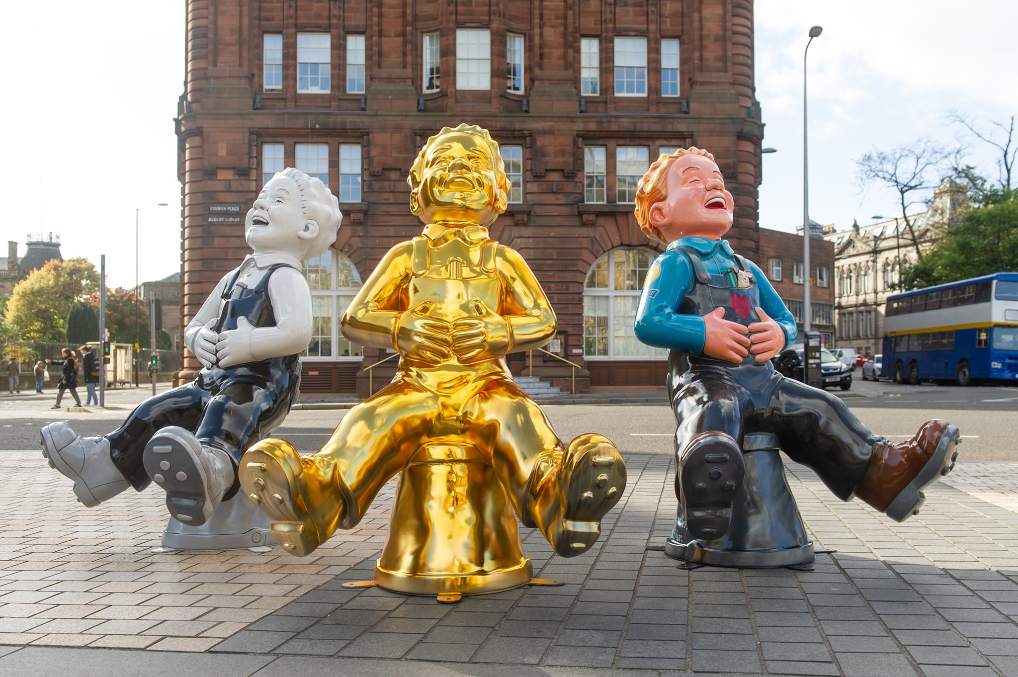 The Oor Wullie Big Bucket Trail has been hugely popular.