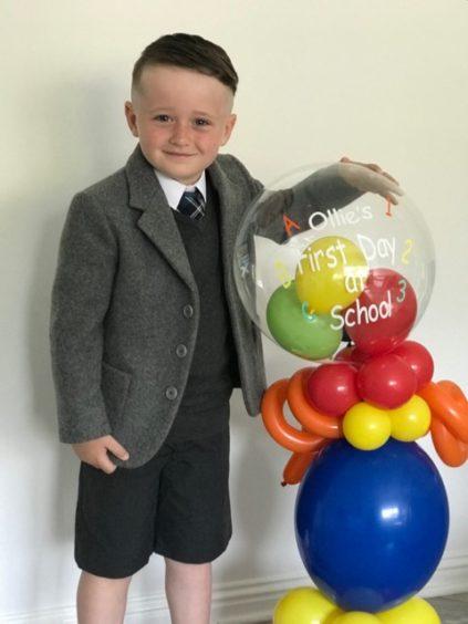 Ollie Bain, St Andrews Primary School.