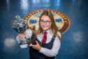 Hannah Ferry with the George Wighton Memorial Award.