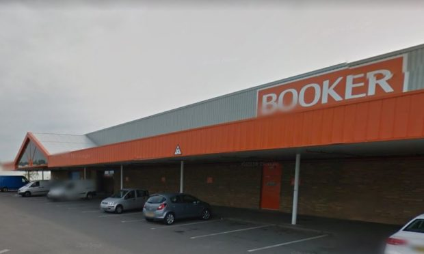 The bizarre incident took place at Booker Cash and Carry.