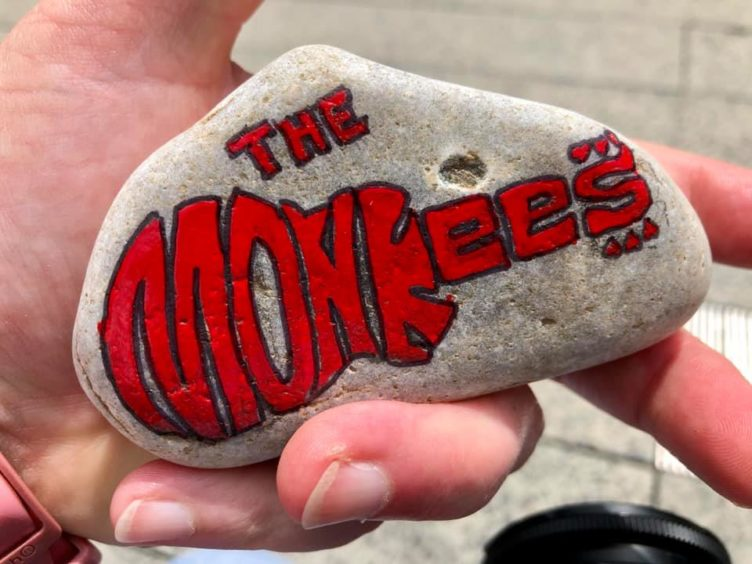 Hey hey! The Monkees made it onto this rock.