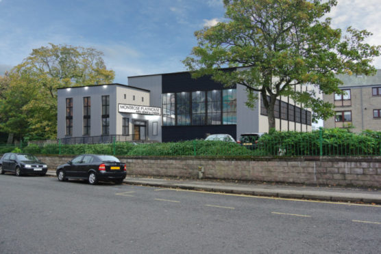An artist's impression of how the finished building will look.