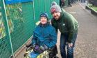 Tam Glen with son Thomas.