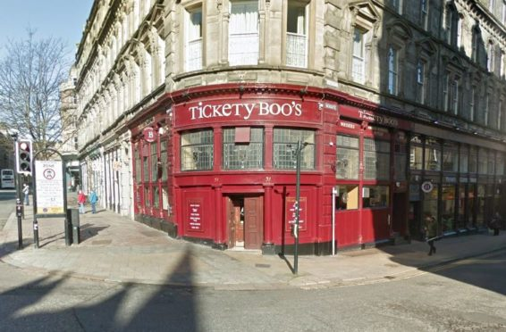 One of the offences allegedly took place in Tickety Boo's, in Dundee city centre.  (stock image).