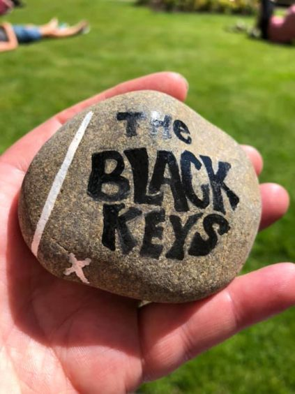 Another of Karen's favourite bands, The Black Keys, who have become one of the most popular bands in the world over the past decade.