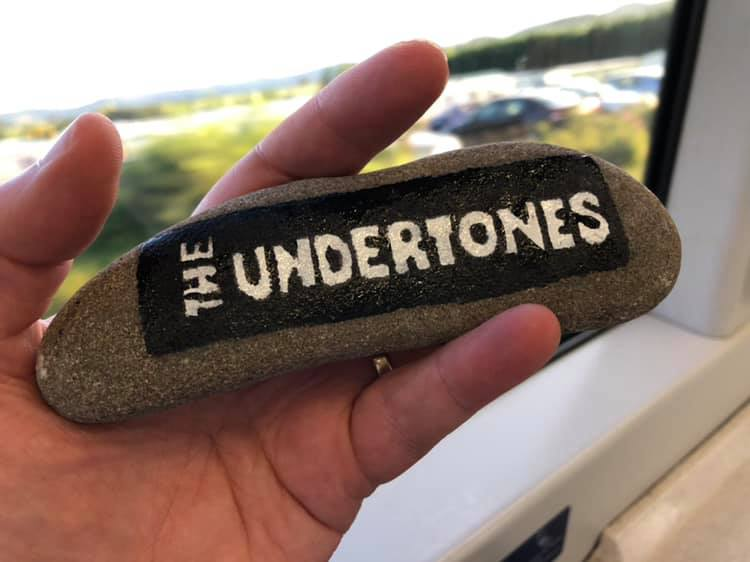 Hopefully whoever found this Undertones rock got teenage kicks when they discovered it.
