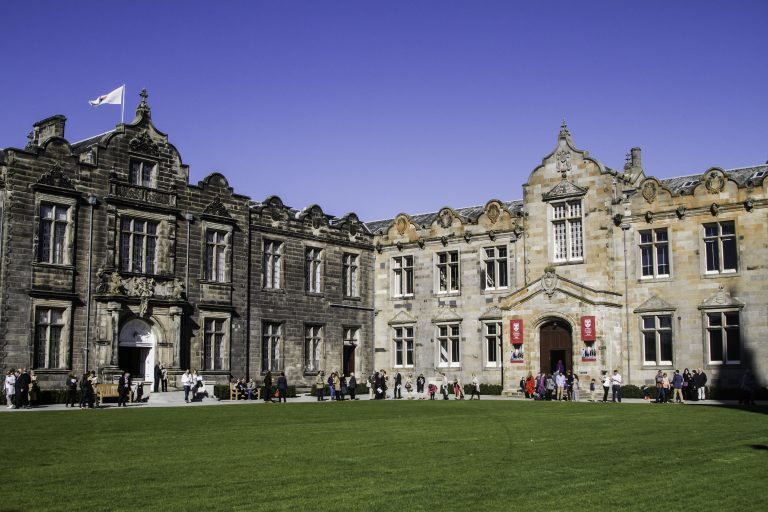 The University of St Andrews.