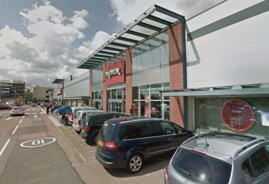 The TK Maxx store at the retail park.