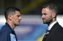 Graham Dorrans and boss James McPake.